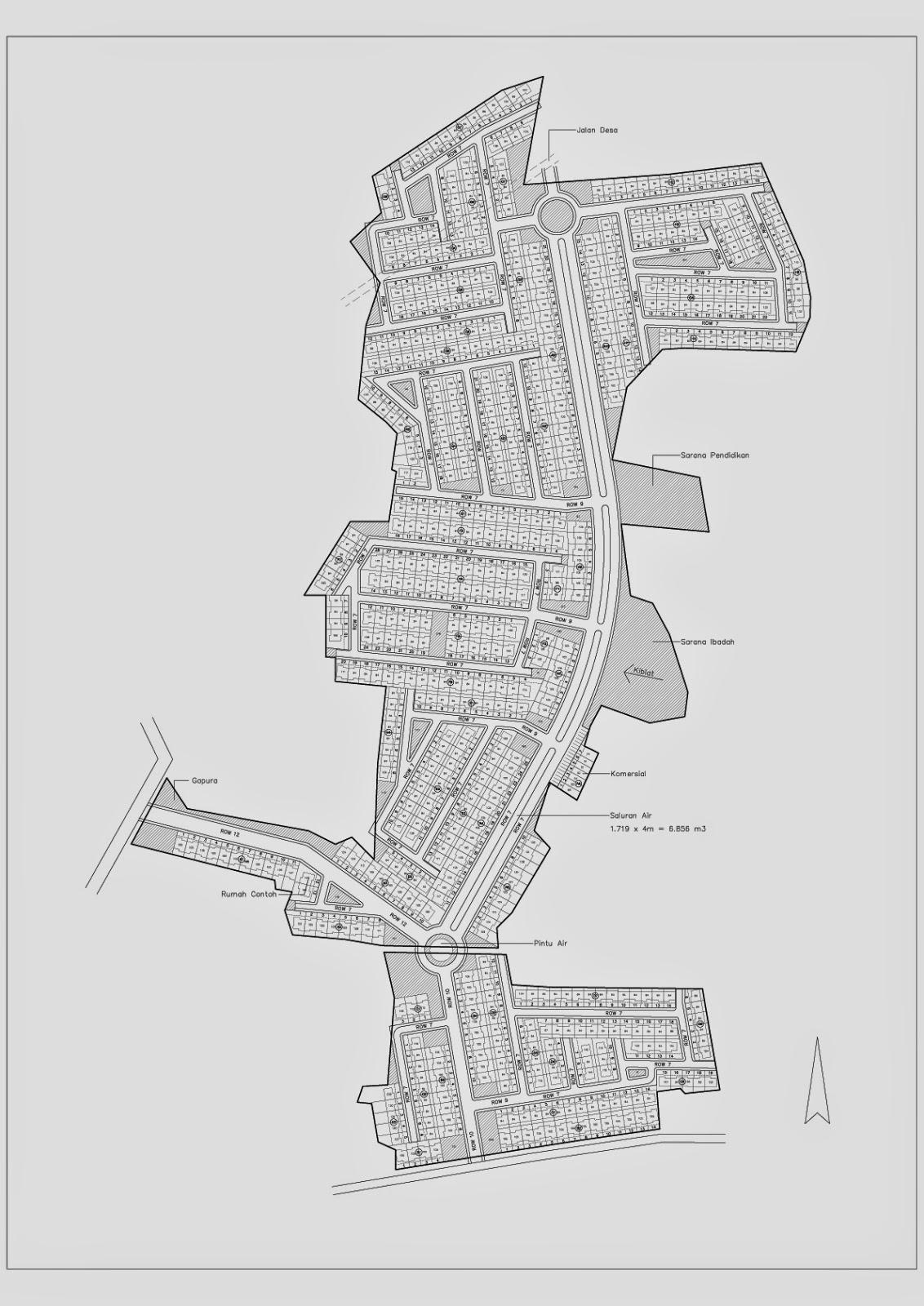Site Plan Pembatas Banjir