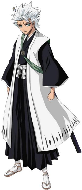 Anime Manga: Toshiro Hitsugaya