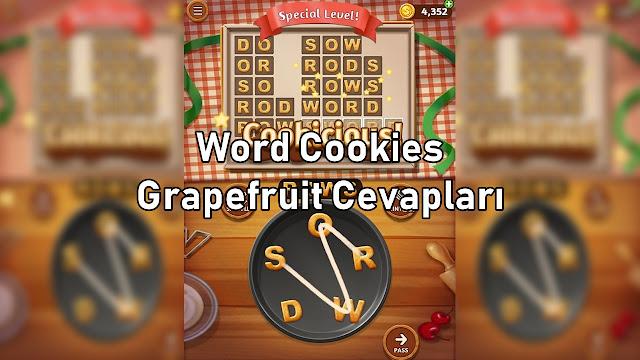 Word Cookies Grapefruit Cevaplari