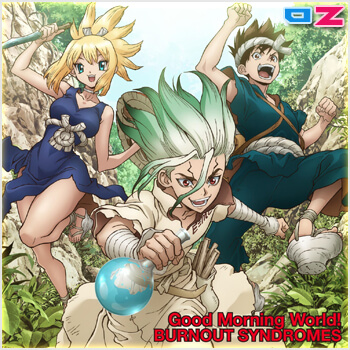 Dr.Stone (OPs 1,2) & (EDs 1,2) [Single]