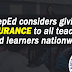 DepEd considers giving insurance to teachers and learners