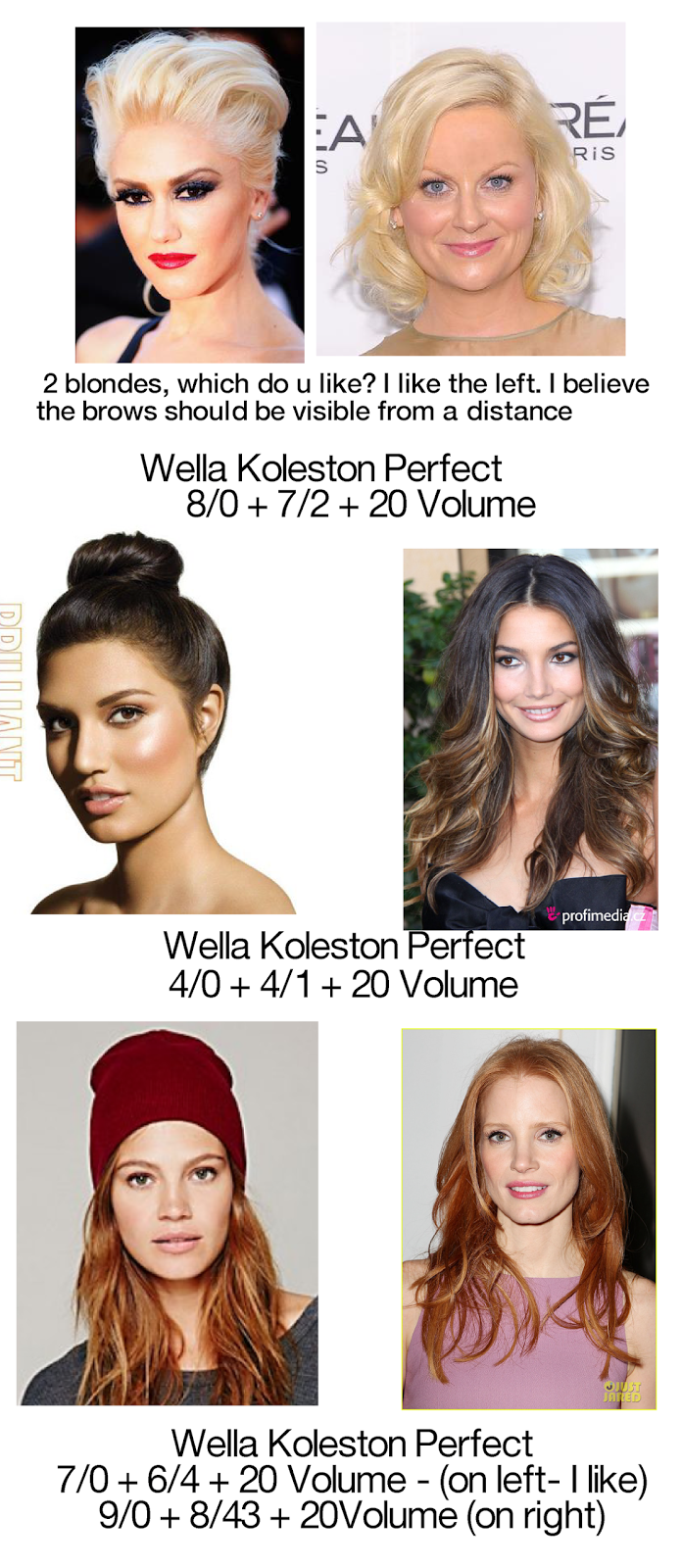 Wella koleston perfect hair color formulas best hair color hair colour chart wella koleston perfect permanent geenschuldenfo Image collections