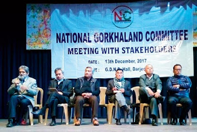 National Gorkhaland Committee statehood meeting