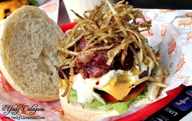 Bacon and Egg Burger at Burger Company
