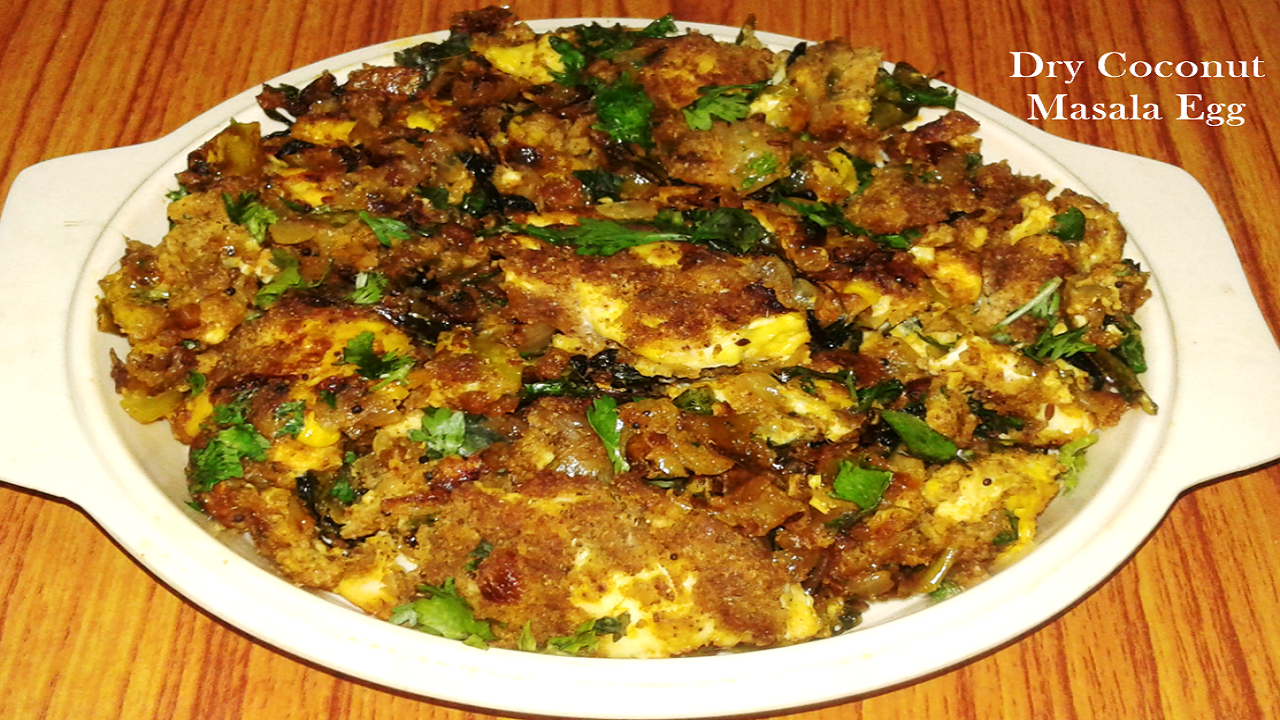 egg with coconut masala