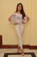 Actress Pragya Jaiswal Latest Pos in White Denim Jeans at Nakshatram Movie Teaser Launch  0055.JPG