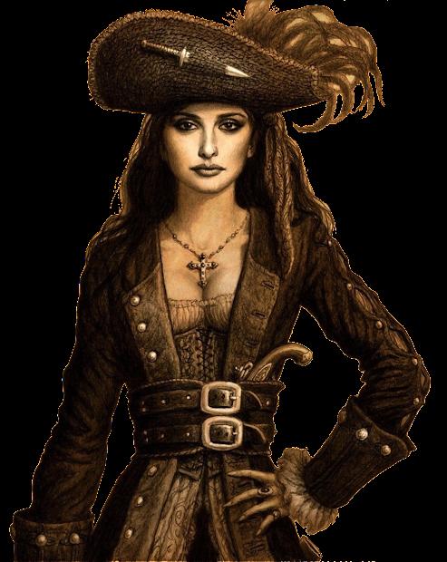 Caribbean Female Pirate