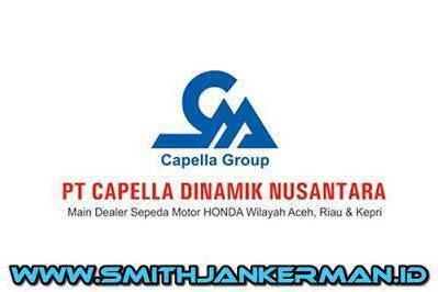 Lowongan PT. Capella Dinamik Nusantara Pekanbaru April 2018