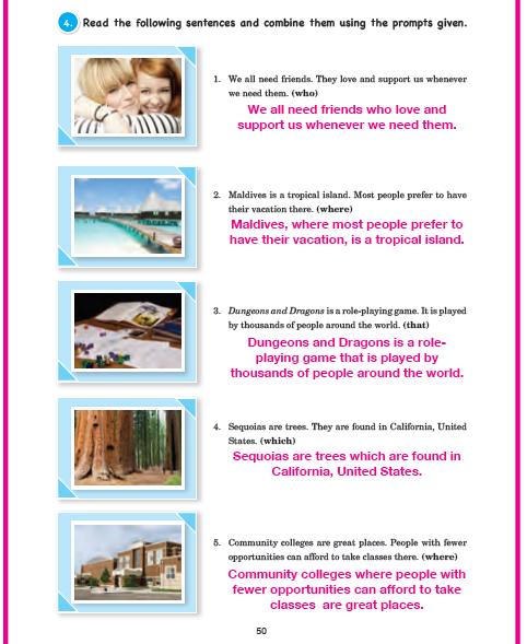 11. Sınıf Cem Veb Ofset Yayınları İngilizce Sunshine Çalışma Kitabı 50. Sayfa Cevapları Theme 9 My Friends