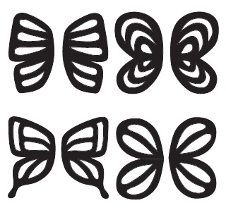 21 images of fondant butterfly template | bfegy. Com.