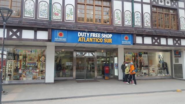 Loja Duty Free Shop Atlantico Sur em Ushuaia