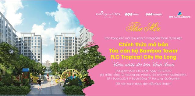 Mở bán Toà Bamboo Tower - FLC Tropical City Hạ Long