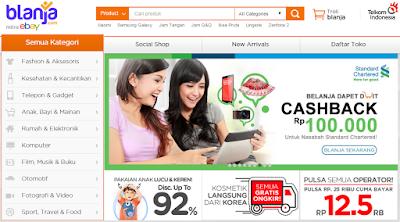Blanja.com, Mitra eBay untuk Belanja Murah dan Aman di Indonesia