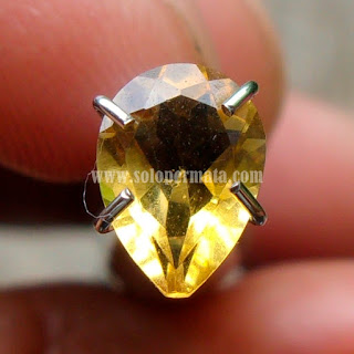 Permata Yellow Citrine - A457