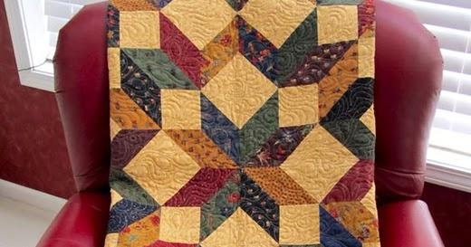 Quilting Land: Carpenter Star Quilt