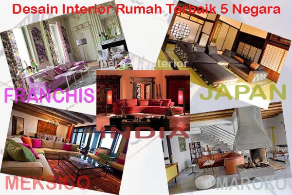 Intip Desain Interior Rumah Terbaik dari 5 Negara