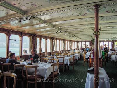 Switzerland, William Tell Express, 瑞士, 威廉泰爾快線, restaurant, 餐廳