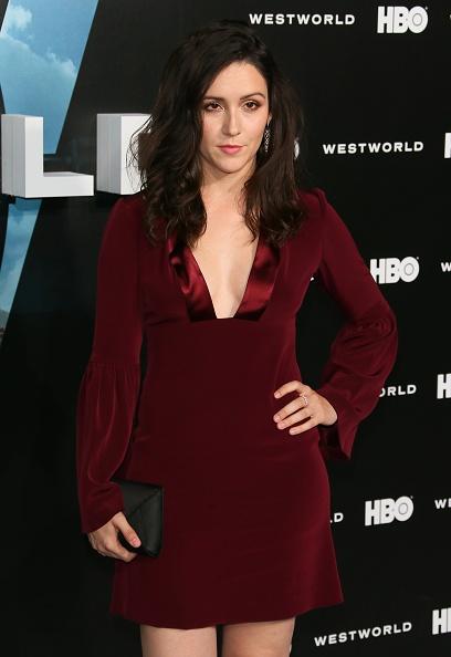 Shannon Woodward Westworld Premiere