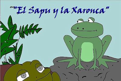 http://asturies.com/alagueta/el-sapu-y-la-xaronca#