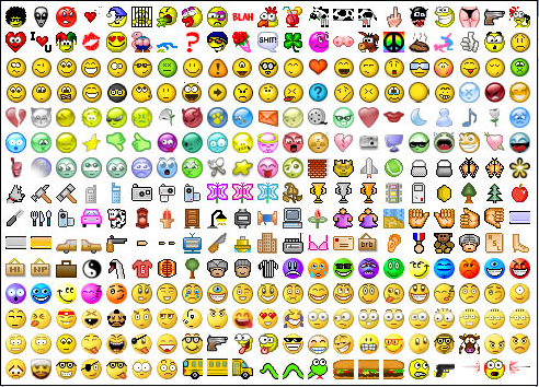 Iphone emoticons, smileys and symbols: Viber smileys for