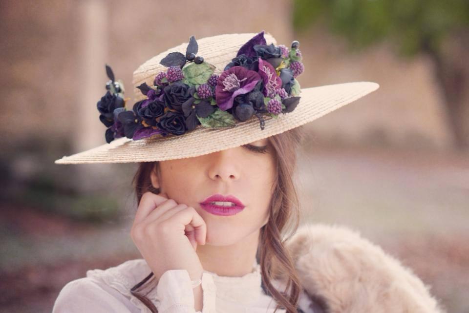 tocado sombrero novia invitada india tiara headpiece fa993758bf3