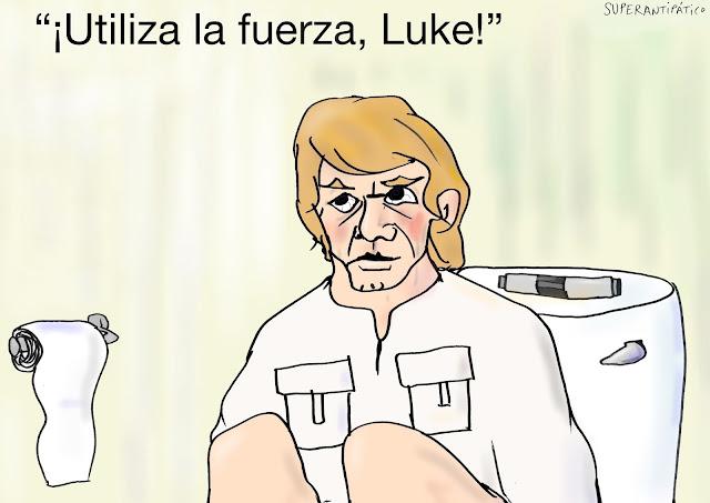 Utiliza la fuerza, Luke