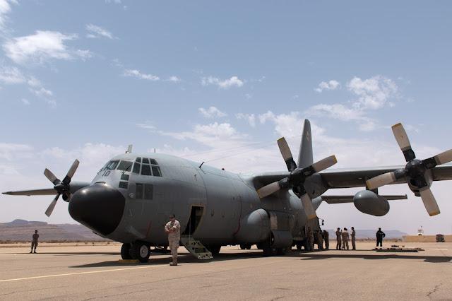 A bordo de una misión del Destacamento Marfil a lo largo del Sahel