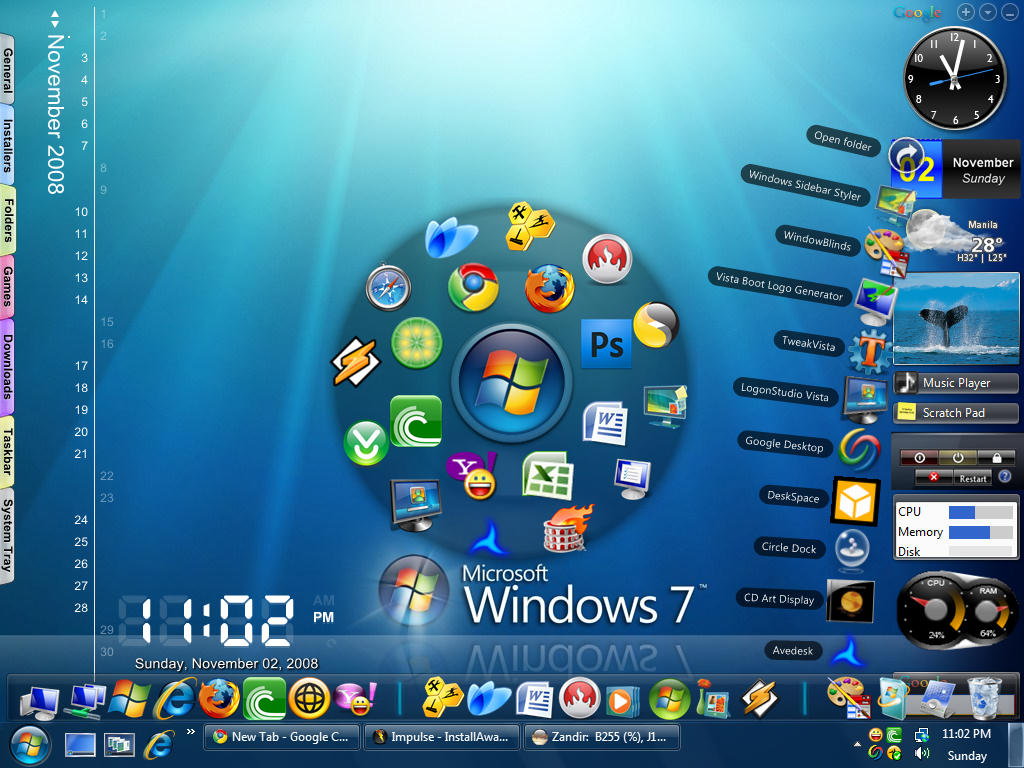 Best desktop gadget for windows 7