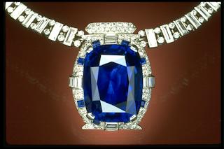 The Rockefeller Blue Sapphire Pendant