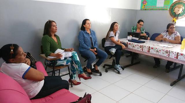 Barreiras: Sindsemb Itinerante continua visitando escolas municipais