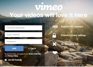 Create a Vimeo Account