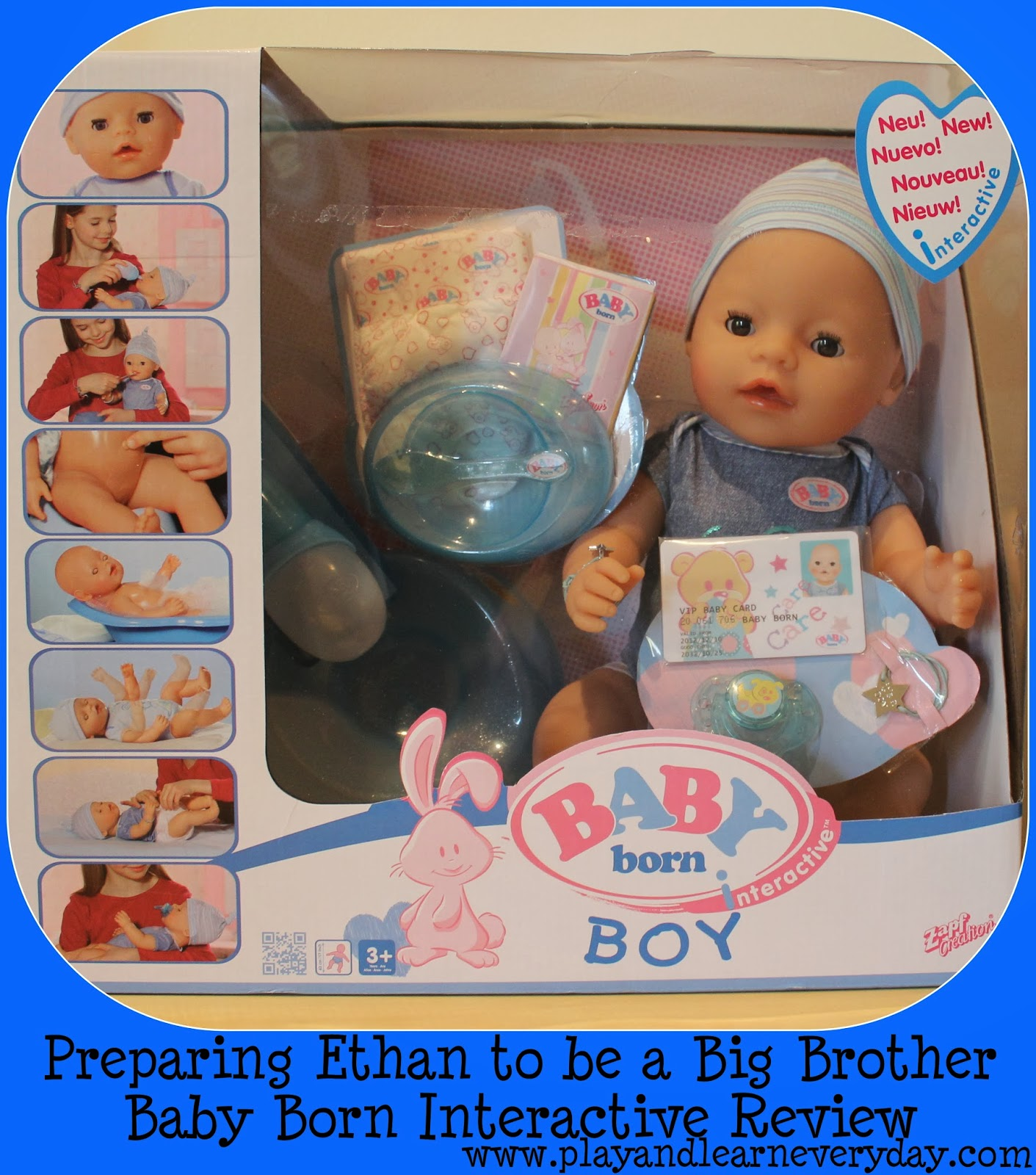Preparing Ethan To Be A Big Brother Baby Born