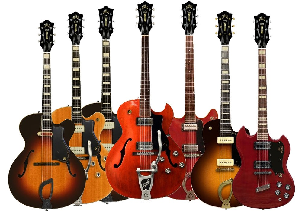 The Unique Guitar Blog Guild Electric Guitars