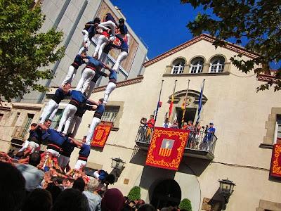 Castellers in Esplugues de Llobregat