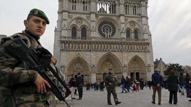 Francia: Encuentran cilindros de gas Propano cerca de Notre Dame