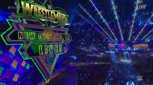 Wrestlemania 34 - Prasanna Dasari