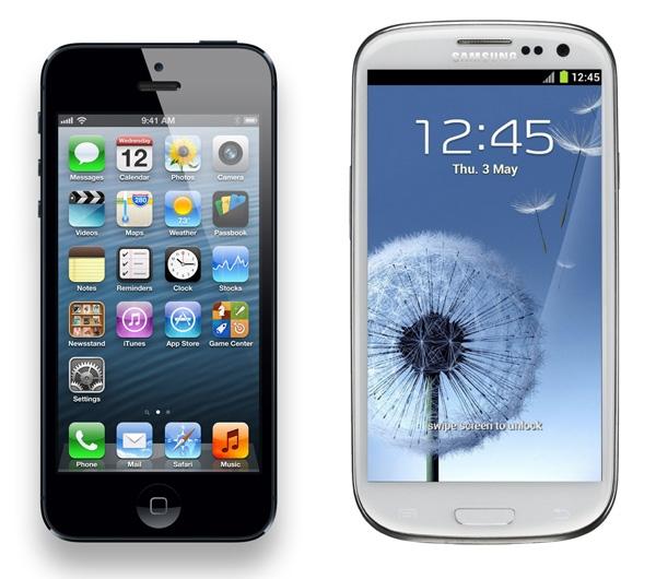 %C4%B0phone+5+Galaxy+S3+Kar%C5%9F%C4%B1la%C5%9Ft%C4%B1rma İphone 5 ile Galaxy S3 Arasındaki Farklar