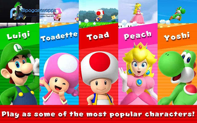 Download Super Mario Run Mod Apk Full Version All Unlocked