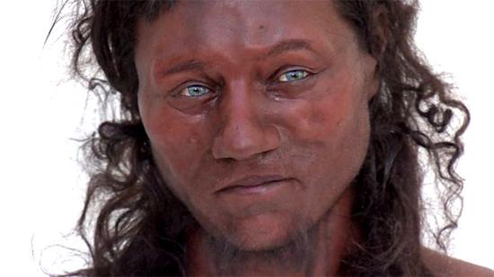 Negro com olhos azuis, 1º britânico era bem diferente do que se imaginava - Img 1