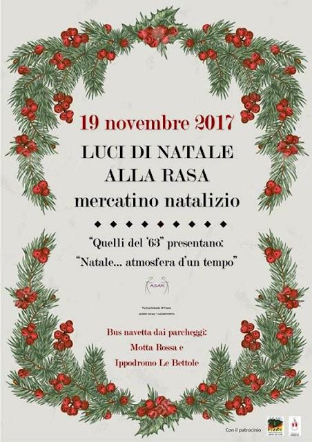 Mercatino natalizio 2017 Rasa di Varese