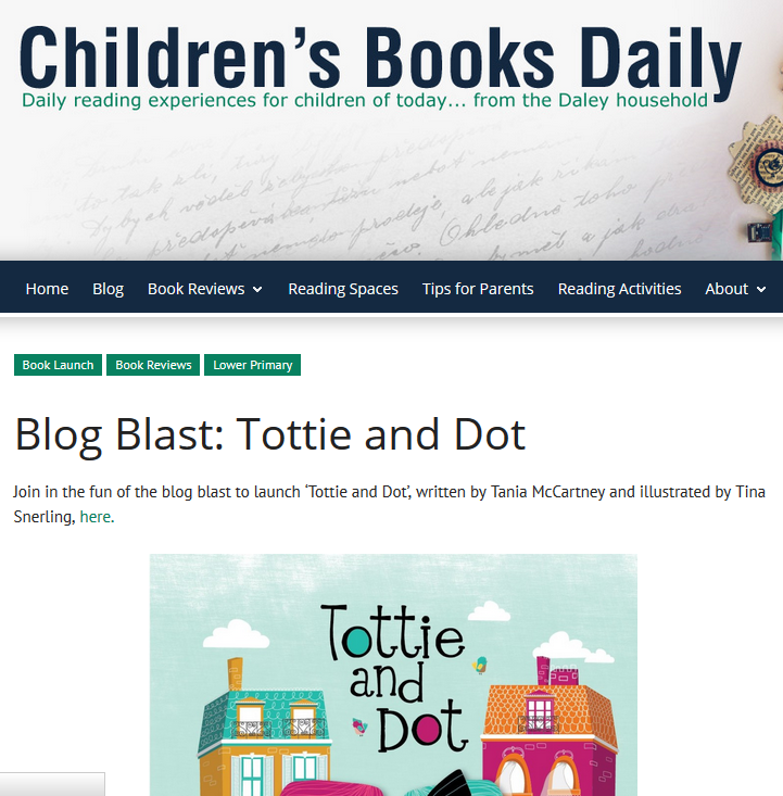 http://childrensbooksdaily.com/blog-blast-tottie-and-dot/