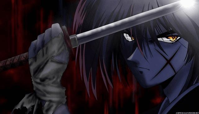 Dari mana asal sayatan di pipi kiri Kenshin?