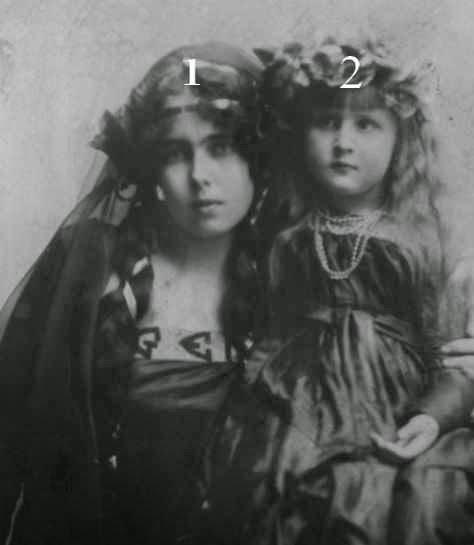 Beatrice  de Saxe-Cobourg et Gotha et Elisabeta de Roumanie