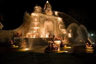 fuente monumental real sitio segovia