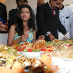 Hamsa Nandini Stills at Steak N Burger Festival