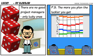 Are you a Lucky Project Manager?