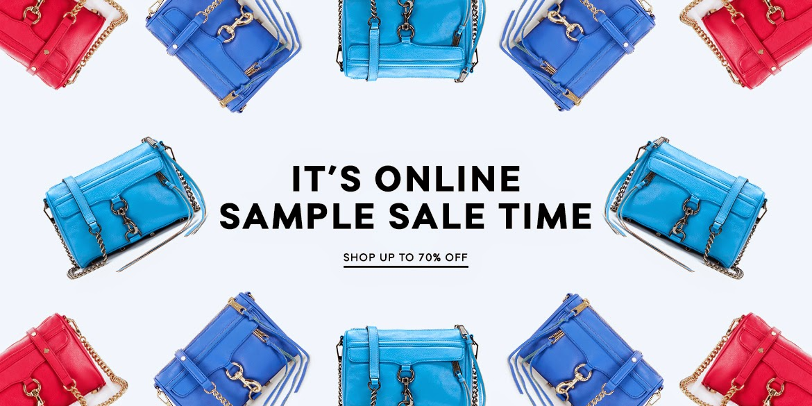 Take up to 75% off on clothes, shoes, handbags and accessories at the Rebecca Minkoff sample sale in NYC! Cash and cards accepted. All sales final. It's here! Take up to 75% off on clothes, shoes, handbags and accessories at the Rebecca Minkoff sample sale in NYC! Cash and cards accepted. All sales .