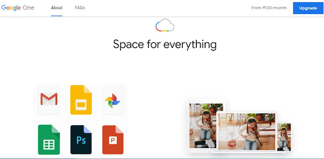 Google Launch Cloud Storage Google One In India With 2 Months On Annual Subscription