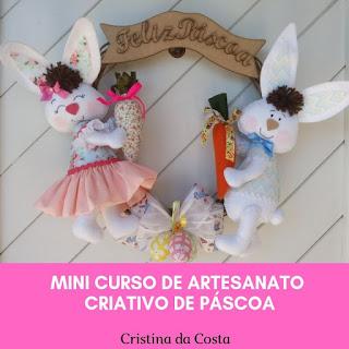 Mini Curso de Artesanato Criativo de Páscoa