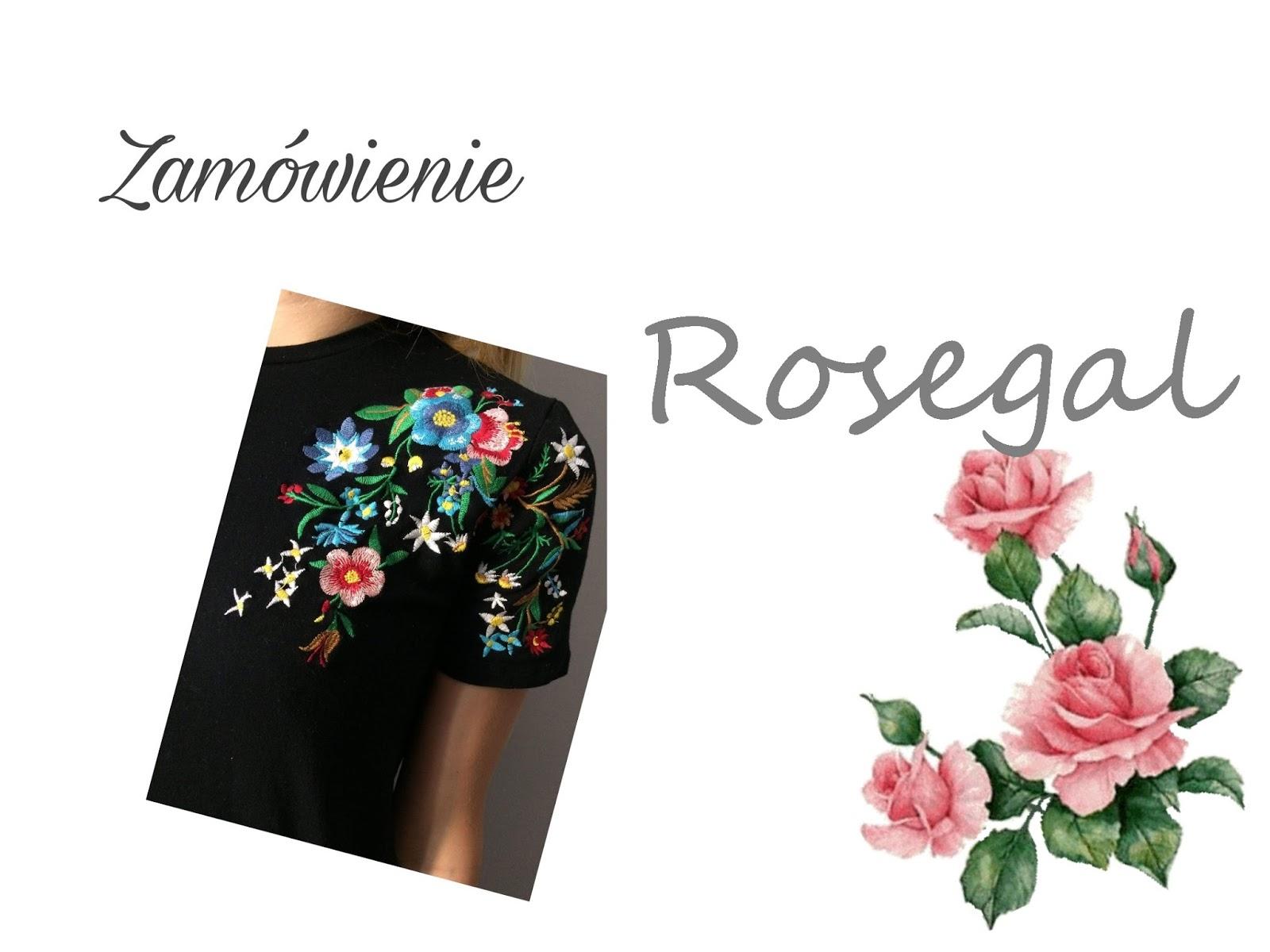 Zamówienie od Rosegal / 4 + kody rabatowe